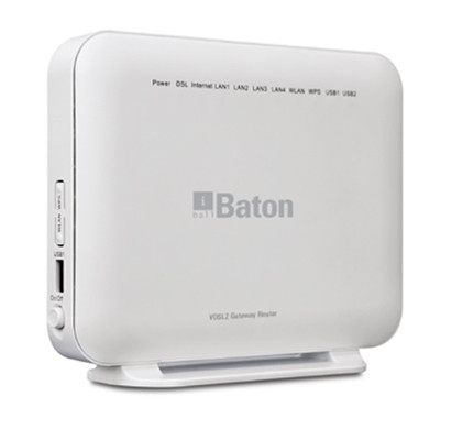 iball baton (ib-wvg300n) 300 mbps wireless vdsl2 gateway router/ white