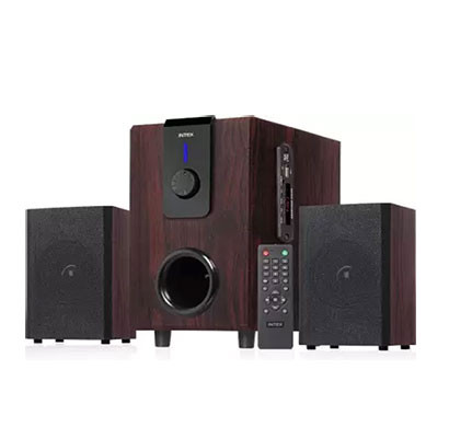 Intex 2.1 XV CHORAL TUFB 36 W Bluetooth Home Theatre (Brown, 2.1 Channel)