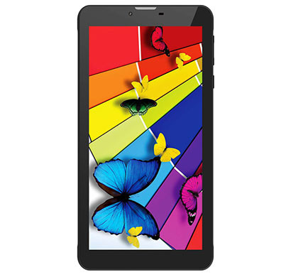 intex i-buddy in-7dd01 tablet (1gb ram/ 8gb rom/ 7 inch screen/ wi-fi+3g+voice calling), black