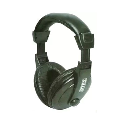 Intex Mega Multimedia Headset with Mic Black