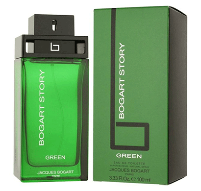 jacques bogart story green 100 ml edt for men