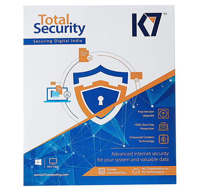 k7 total security - (1 pc, 1 year) cd
