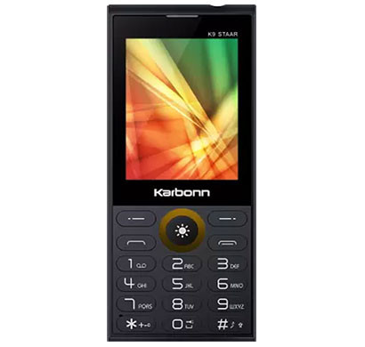 Karbonn K9 Staar Feature Phones 16GB (Black)