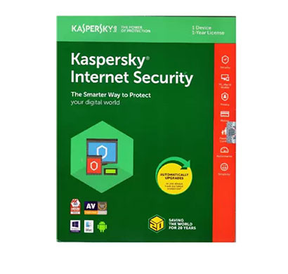 KASPERSKY Internet Security 1 User 1 Year (CD/DVD)