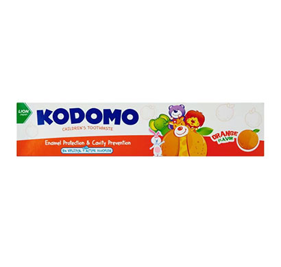 kodomo toothpaste orange/ 80g