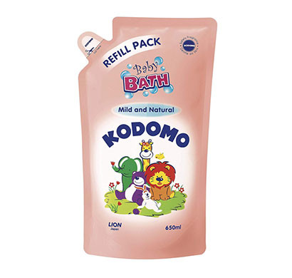 kodomo baby bath refill mind & natural/ 650 ml