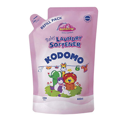 kodomo fabric softener refill/ 800 ml