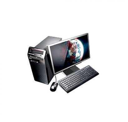 Lenovo V520 (10NLA01FIH) Tower Desktop (Gen7 B250, i3-7100 3.9G 2C, 4GB DDR4 2400, 1TB, No ODD, No OS,Internal Speaker