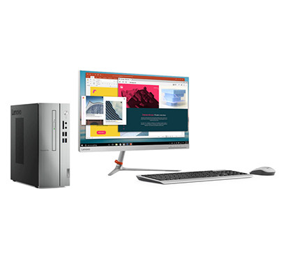 lenovo mainstream no rebate ic 510s-07icb (90k800cxin) desktop pc ( 8th gen intel core i3-8100/ sff/ 4gb ram/ 1tb hdd/ dos/ 21.5 inch led screen/ wired keyboard & mouse/ wifi & bt4.0/ 7 in 1 card reader/ dvdrw/ serial port/ hdmi out/ 1 year warranty