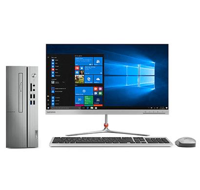 Lenovo IC510S-07ICB 90K800AUIN Tower Desktop Pc ( Intel Core I3-9100 9th Gen / 4GB Ram / 1TB Hdd/ Windows 10 / Slim DVD / 21.5