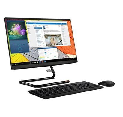 Lenovo A340-22IWL (F0EB000GIN) Mainstream Desktop Pc (Intel Core I3-8145U/ 4GB RAM/ 1TB HDD/ Slim DVD RW / 21.5 Inch FHD Screen/ Dos/ Wireless Keyboard / Mouse/ 1 year Onsite Warranty) ,Black