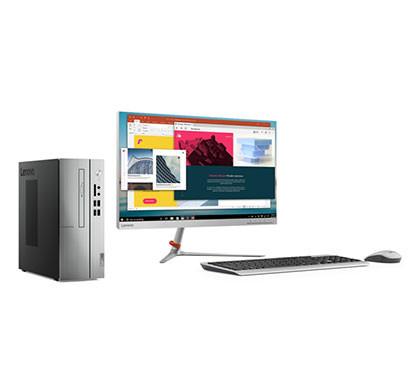 Lenovo Mainstream 510S-07ICB (90K800HJIN) Desktop Pc (Intel Core i3-9100/ 4GB RAM/ 1TB HDD/ DVD RW/ 21.5