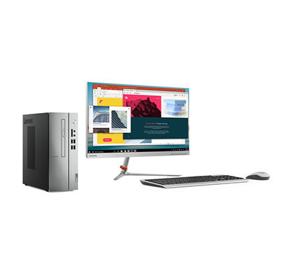 Lenovo Ideacentre 510S-07ICB (90K800DFIN) Desktop PC (8th Gen Intel Core I3/ 4GB RAM/ 1TB HDD/ Windows 10+Ms Office Home & Student/ 21.5 Inch Monitor/ DVDRW/Wired Keybored + Mouse)