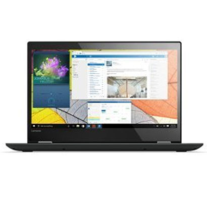 lenovo yoga 520 (80x800q6in) 14-inch full hd laptop (intel core i3-7020u/4gb ram/1tb hdd/windows 10/office h&s 2016/integrated graphics/anti-glare touch),onyx black
