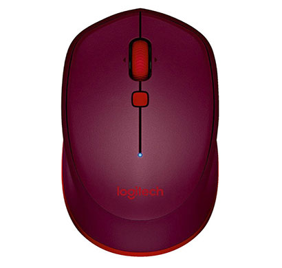 logitech m337 bluetooth mouse red