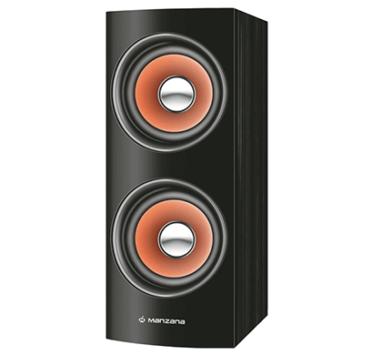 manzana mini towerhouse 2.0 multimedia speaker black