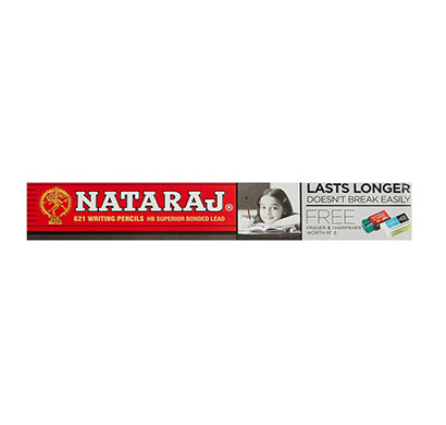 nataraj 621 pencils ( smooth & clear writing/soft wood for easy sharpening)