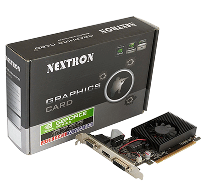 Nextron Nvidia GeForce GT 730 4GB 64-Bit DDR3 PCI Express Graphic Card / PCI-E 2.0 / 4GB / DDR3 / 64 Bit / D-SUB(VGA) / DVI-D/ HDMI / HDCP support/ 384 Cuda Core / Direct X 12 / 3D Accelerator/ Silent