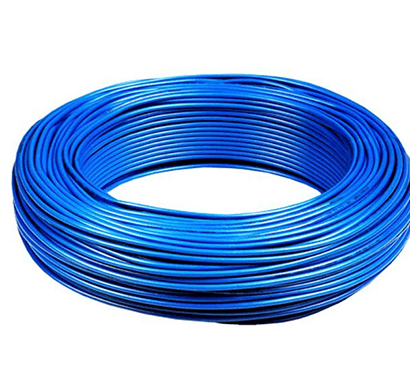 Niki- 0.5(16/20) SQmm FR Insulated Three Core PVC Cable (Blue)