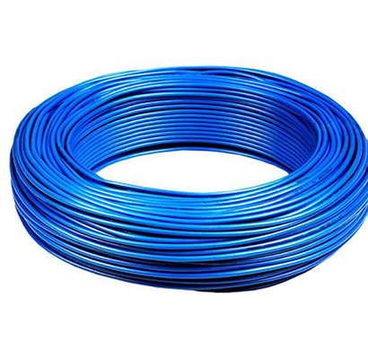 Niki- 0.75(24/20) SQmm FR Insulated Single Core PVC Cable (Blue)