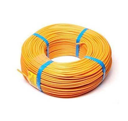 Niki 1.00(32/20) SQmm FR Insulated Two Core PVC Cable Yellow