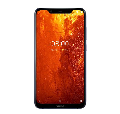 Nokia 8.1 ( 4GB RAM/ 64GB Storage),Blue Color