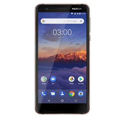 nokia 3.1 (3gb ram/ 32 gb rom),mix color
