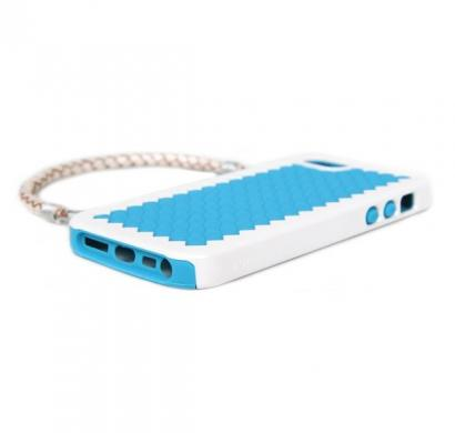 New York - Handbag Case with Silicone Liner for iPhone 5 (Turquoise)