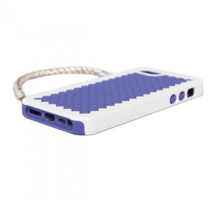 New York, New York- Handbag Case with Silicone Liner for iPhone 5 (Lavender)