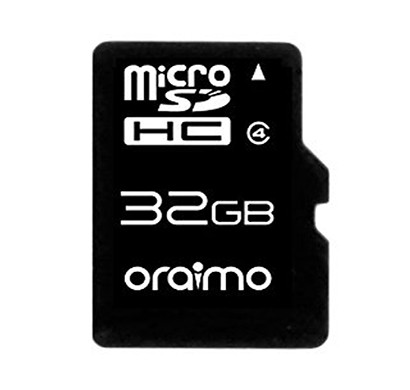 oraimo 32gb super fast memory card