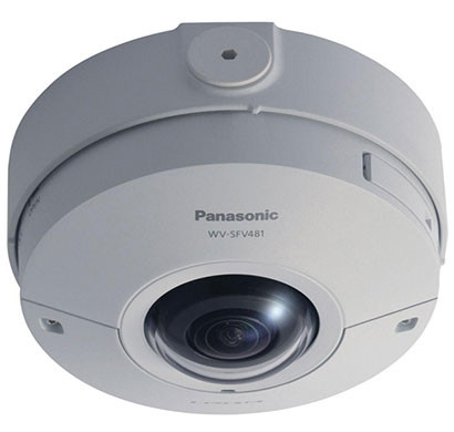 panasonic wv-x6531n i-pro ultra 12mp outdoor network dome camera, fisheye lens
