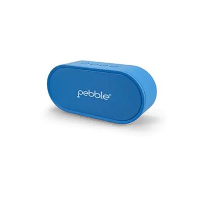 Pebble 6W BassX Prime Wireless Bluetooth Speaker (Blue)