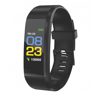 pebble kardio activity tracker fitness band (black)