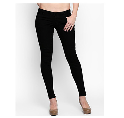 pink (lme-silky b) women western wear - western bottomwear - jeans -regular (black)