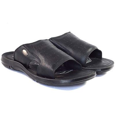 POKROK Men Pu Casual Slipper (dabloo4) Black, Tan, Brown