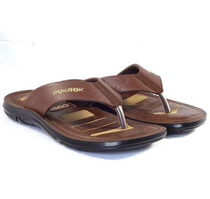pokrok men pu casual slipper (dabloo7) black, tan, brown