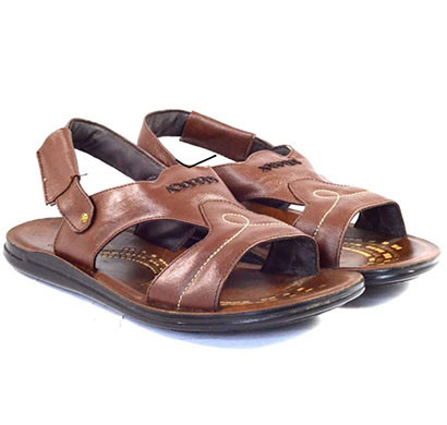 POKROK Men Pu Casual Semi Formal Sandals (ppf1) Tan, Brown, Black