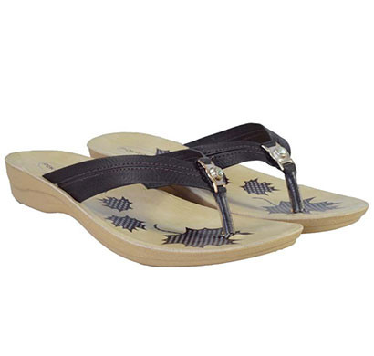pokrok women pu stylish sandal (zoos8) brown, black, red