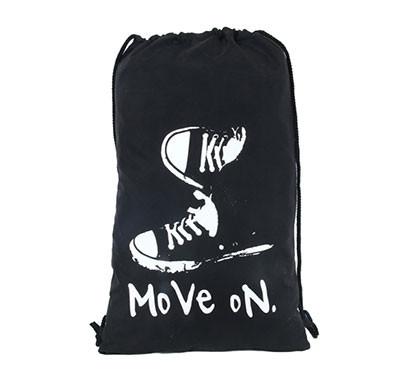 PoleStar Drawstring Moveon Bag (Black)