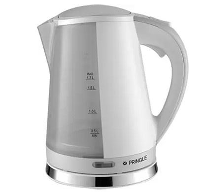 pringle ek602 electric kettle 1.2 ltr grey