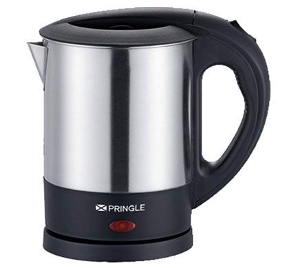 pringle ek-604 elektric kettle 1.0 ltr silver