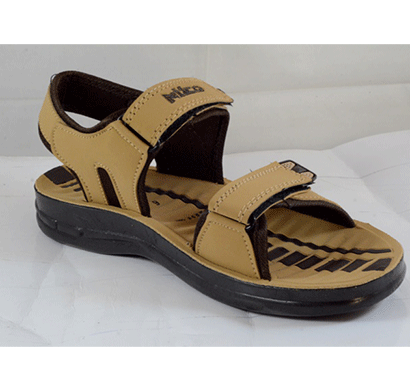 PU Hills 6 To 9 Men Sandal Tan