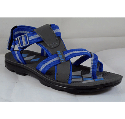 PU Hills 6 To 9 Men Sandal Blue