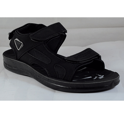PU Hills 6 To 9 Men Sandal Black