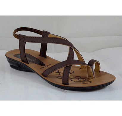 pu hills 5 to 8 women sandal brown/ red/ black/ blue