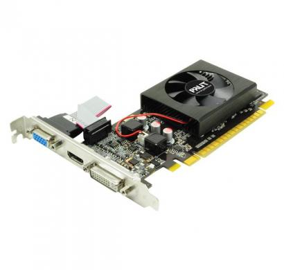 palit graphic card geforce gt 610 1gb ddr3, 64 bit, fan, crt dvi,hdmi