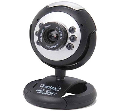 quantum qhm495lm webcam (black)