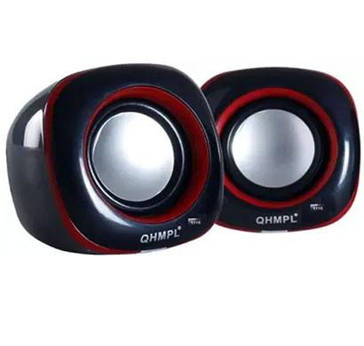 QUANTUM QHM602 USB 2.0 Audio Portable Mini Speaker (Black)
