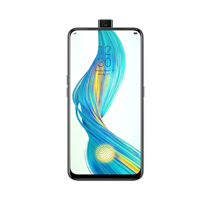 realme x ( 128gb storage/ 4gb ram),polar white