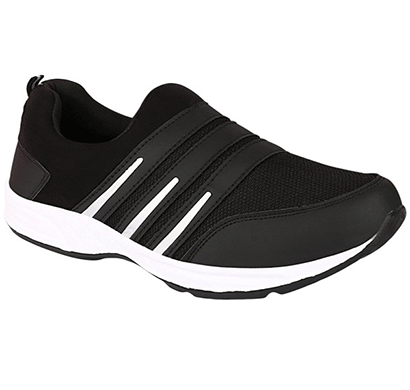 redon men's sports shoes/ running shoes/ gym shoes/ athletic shoes/ walking shoes/ stylish sports running shoes (black & grey)